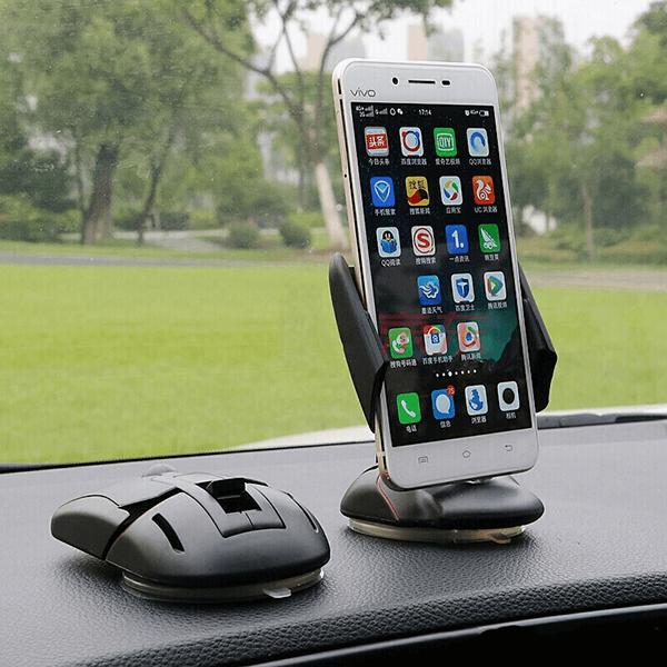 Gía đỡ điện thoại oto hình chuột - Giá đỡ, kẹp điện thoại có thể xoay cao cấp