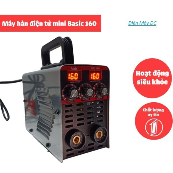 Máy hàn điện tử mini BASIC 160 gia đình-Bảo hành 12 tháng