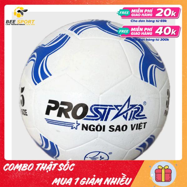 Quả Bóng Đá Prostar Cao Su (giao màu ngẫu nhiên) - Quả bóng đá giá rẻ, bền bỉ, không thấm nước