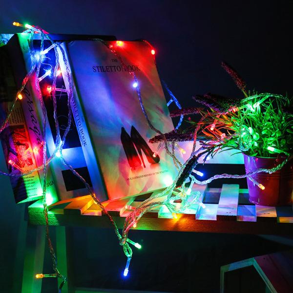 Bảng giá [ Trang trí Tết ] Dây đèn led trang trí đom đóm dài 6m siêu sáng, siêu bền (Dùng pin hoặc cáp usb)