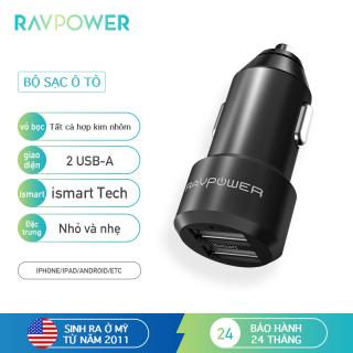 RAVPower RP-VC006 Cổng sạc pin đầu ra o tô màu đen thumbnail