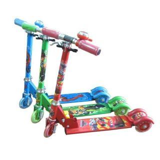 Xe scooter sắt có đèn cho bé đồ chơi trẻ em xe đồ chơi xe scooter xe trượt trẻ em - đồ chơi ngoài trời - đồ chơi - đồ chơi vận động - quà tặng cho bé yêu thumbnail