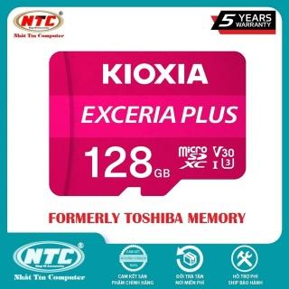 [HCM]Thẻ nhớ MicroSDXC Kioxia Exceria Plus 128GB U3 4K V30 A1 R100MB s W65MB s (Tím) - Nhất Tín Computer thumbnail
