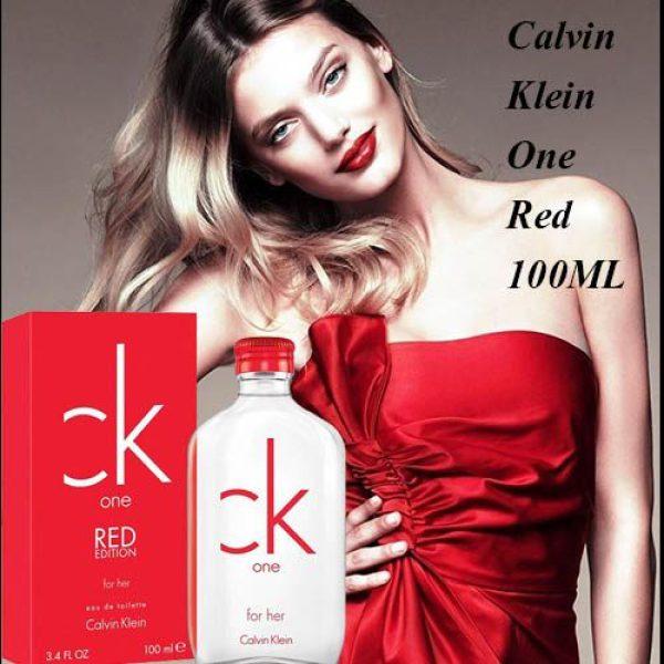 Nước hoa Nữ Calvin Klein One Red Edition For Her 100ml EDT ( hàng auth ) mua tại Mỹ.