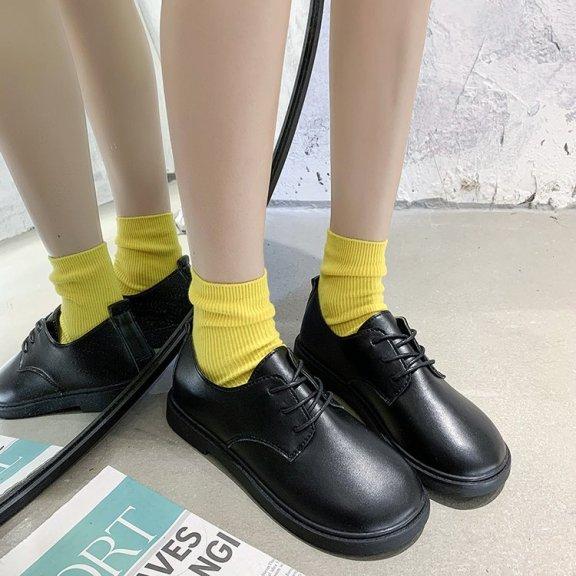 [Thu thập mã giảm thêm 30%] (Hàng có sẵn) giày uzzang oxford DOCTOR nữ BT38 giá rẻ