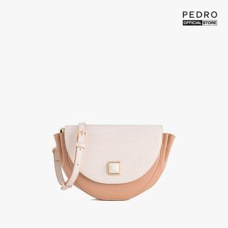 PEDRO - Túi đeo chéo hình bán nguyệt Saddle Croc Effect PW2-75210090-24 thumbnail