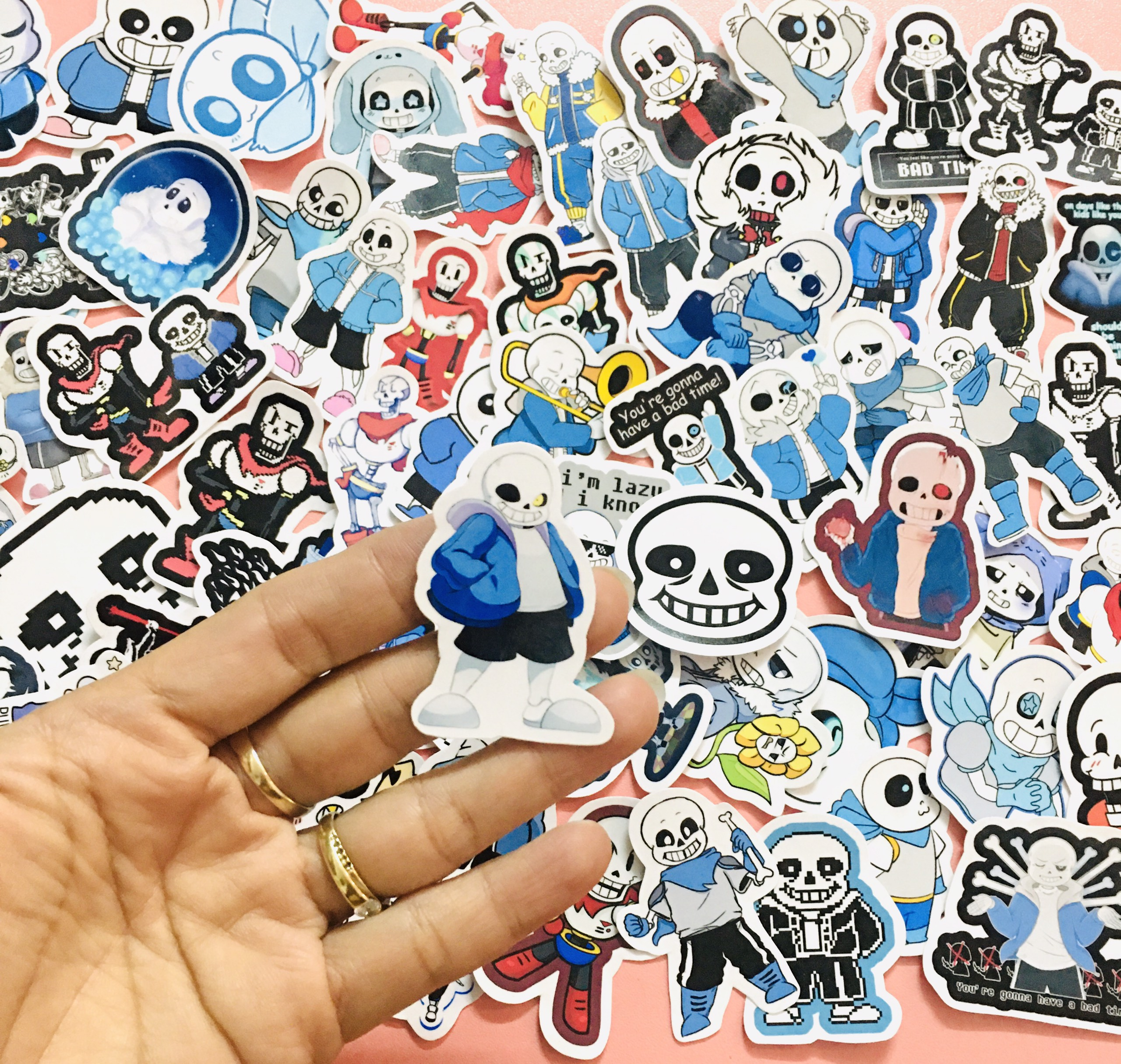 Sticker Game Sans Undertale Set 30-60 ảnh