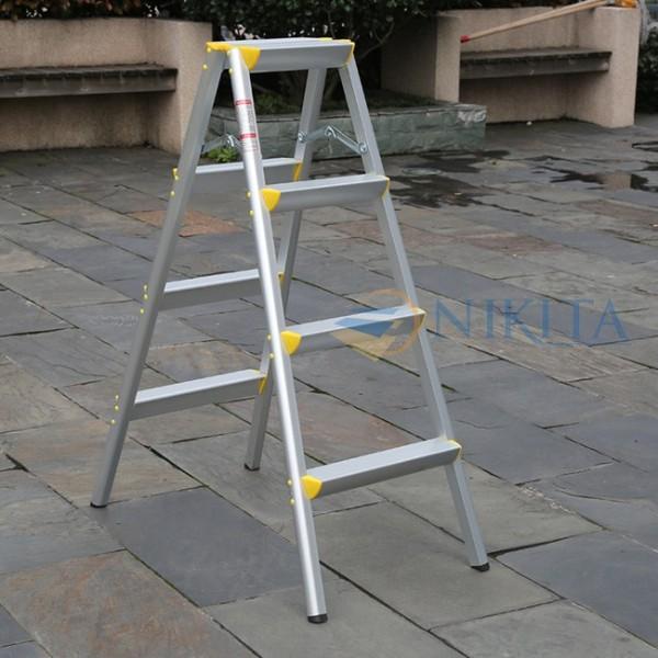 [HCM]Thang nhôm gấp chữ A thang xếp chữ A thang nhôm Keiwa hãng NIKITA R03 R04 R05 R06 chiều cao 0.76m 1m 1.24m 1.47m