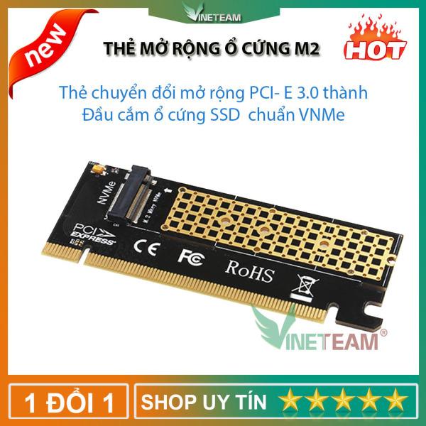 Bảng giá Thẻ mở rộng chuyển đổi M.2 NVME SSD sang PCIE 3.0 X16 cho máy tính Riser Phong Vũ