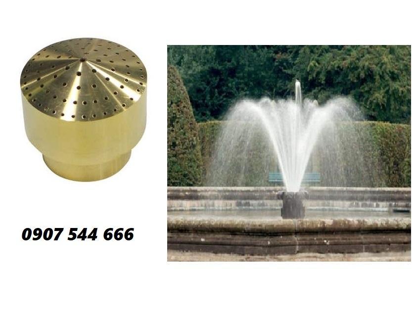 Đầu phun nước hình chùm phi 21mm phun nước nghệ thuật