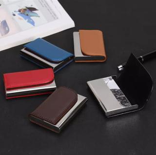 Ví đựng thẻ ngân hàng atm, name card - Hộp đựng card visit, namecard thời trang tiện dụng thumbnail