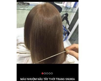 MÀU NHUỘM NÂU VÀNG TÂY SNUKIA 100g