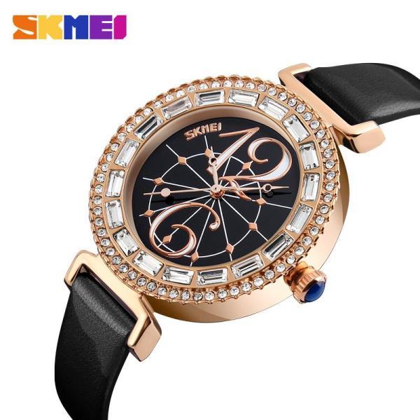 SKMEI Đồng hồ thời trang nữ chống nước thạch anh 9158