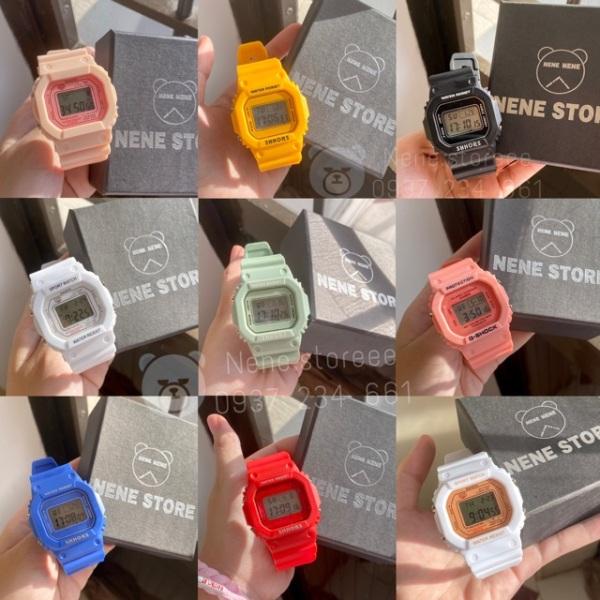 Nơi bán Đồng hồ thể thao nữ Sport Watch dễ thương nhiều màu