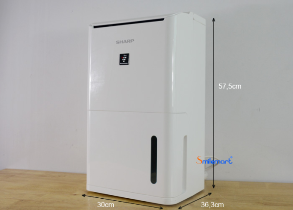 Máy lọc không khí và hút ẩm SHARP DW-D12A-W (25m2)