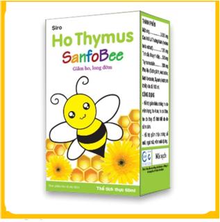 Siro ho Ong Vàng Thymus Sanfobee - Giảm ho, long đờm thumbnail