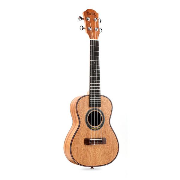 Concert Ukulele 4 Strings Mahogany Guitar 23 Inch Soprano Ukulele Beginner Rosewood Fretboard Bridge For Musical Stringed Instruments