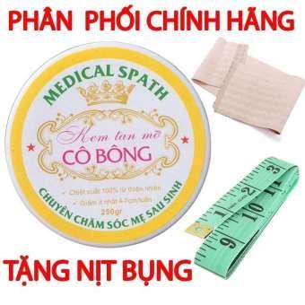 Kem tan mỡ Cô Bông (250g) giúp giảm mỡ bụng tặng NỊCH BỤNG cao cấp