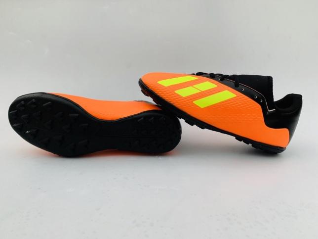 Giày đá bóng sân cỏ nhân tạo X18 đế cao su khâu full đế giá rẻ