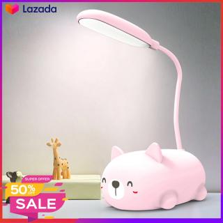 Đèn Học Chú Heo Con Cute - Đèn Để Bàn, Đèn Ngủ Ngộ Nghĩnh Dễ Thương - Gập Xoay 360 Độ Tiện Dụng Nhỏ Gọn Di Chuyển Dễ Dàng thumbnail