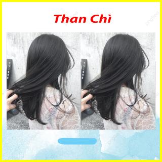 Thuốc nhuộm tóc Than chì không tẩy lên từ nền đen (TẶNG KÈM OXY TRỢ NHUỘM +GĂNG TAY) thumbnail