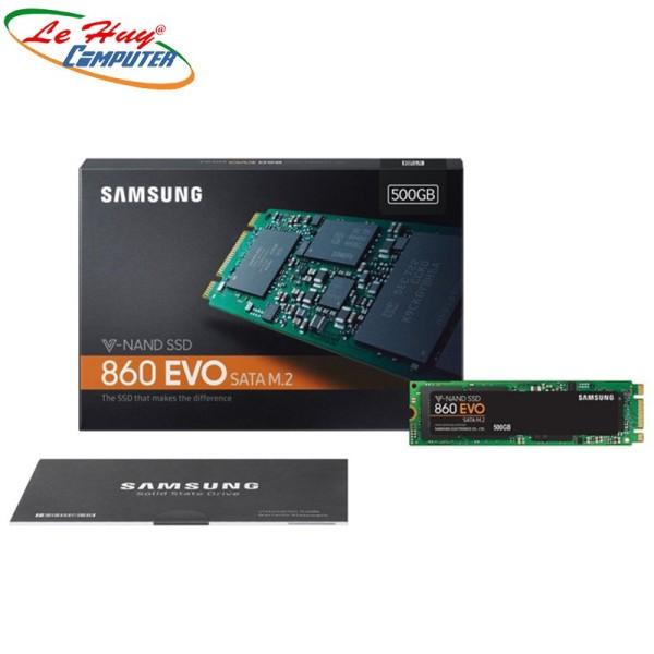 Bảng giá [Trả góp 0%]Ổ Cứng Ssd Samsung 860 Evo 500Gb M2 2280 (Mz-N6E500Bw) Phong Vũ