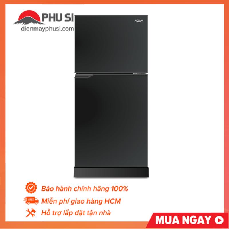 Tủ Lạnh AQUA 143 Lít AQR-T150FA (BS) - Dung tích tổng: 143 lít, Không đóng tuyết