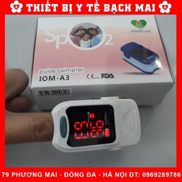 Máy Đo Nồng Độ Oxy SpO2 Và nhịp Tim iMediCare iOM A3 Singgapore bán chạy
