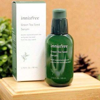 Serum Innisfree Green Tea Seed, Tinh Chất Trà Xanh Hàn Quốc Dưỡng Ẩm Chuyên Sâu, Bảo vệ Da Toàn Diện 80ml thumbnail