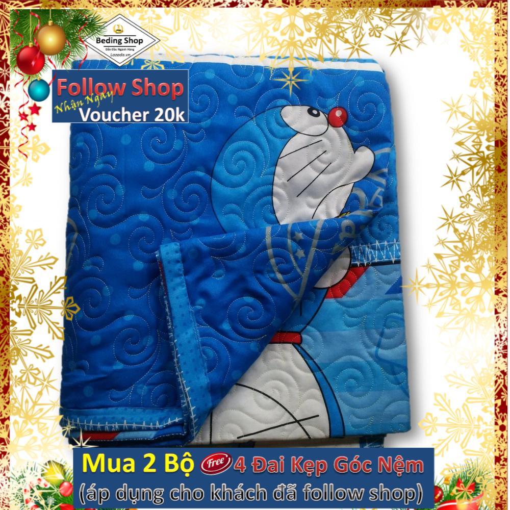 Giá Tiết Kiệm Khi Sở Hữu Mền Hè Thu Chần Gòn - Doraemon 180cmx200cm