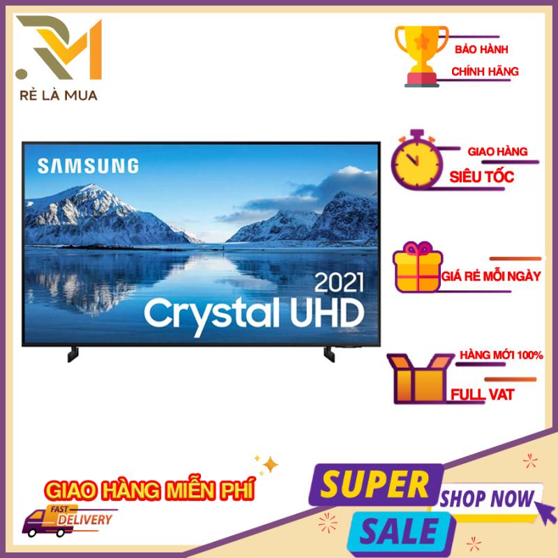Bảng giá [Trả góp 0%]Smart Tivi Samsung 4K 55 inch 55AU8000 Crystal UHD - Hệ điều hành giao diện Tizen OS Tổng công suất loa 20 W