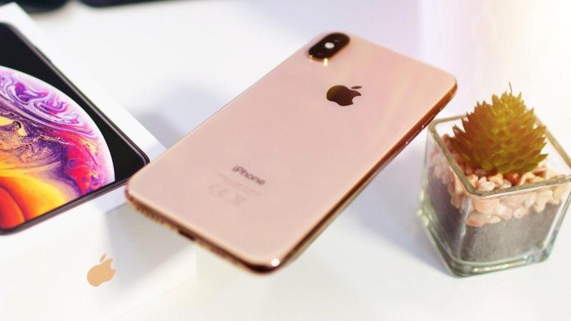 Điện thoại  IPHONE XS 64gb Gold Vàng Kim chuẩn quốc tế