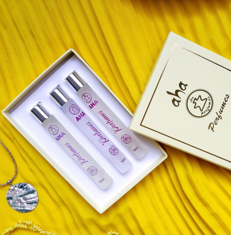 Set 03 nước hoa nữ AHA991 - AHA992 - AHA993 (CHANCE - COCO MADEMOISELLE - NO.5) AHAPERFUMES 10ML