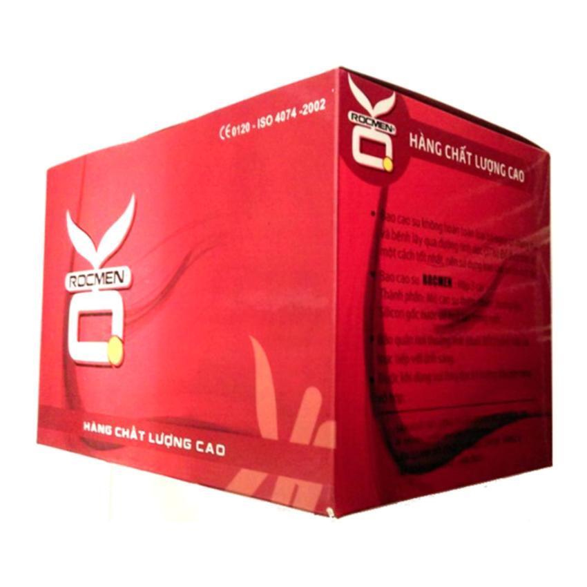 Bộ 1 hộp lớn bao cao su OK không mùi 144 chiếc nhập khẩu