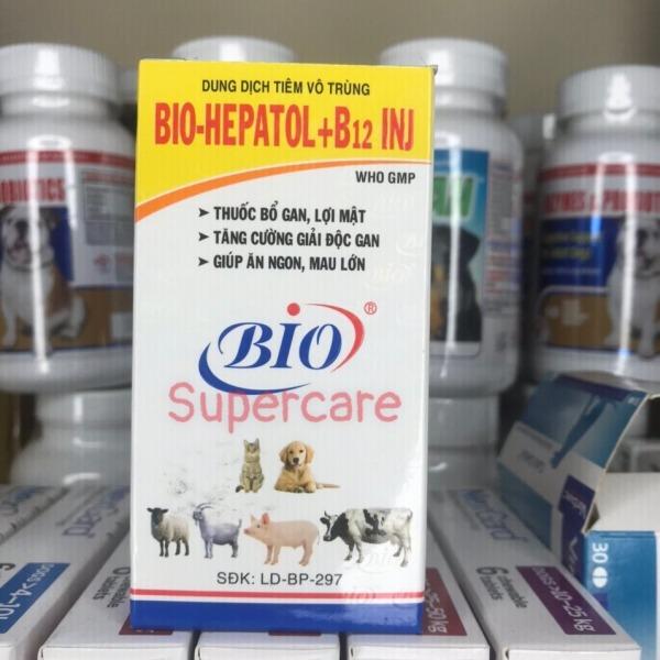 Bio HEPATOL+B12 100ml - Giải Độc Gan Giúp Chó Mèo Ăn Ngon