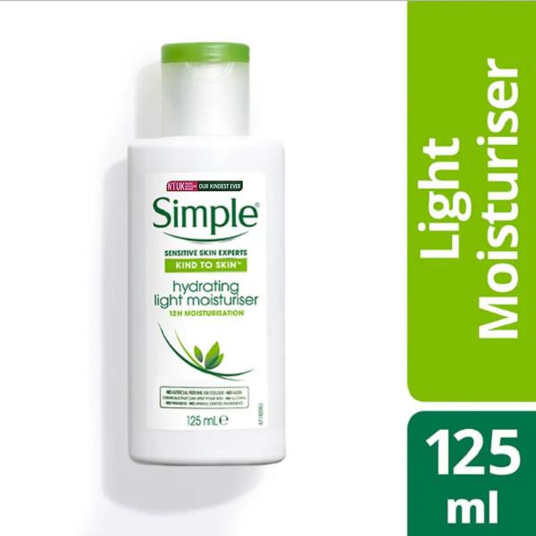 Kem Dưỡng Ẩm Da Simple Kind To Skin Hydrating Light Moisturiser 125ml