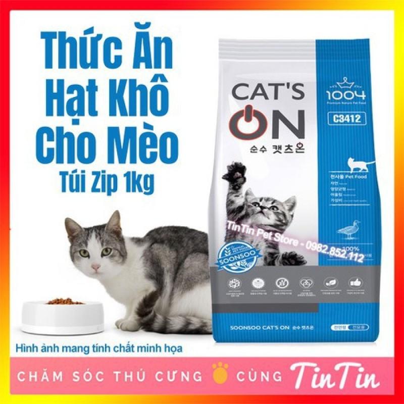 Hạt mèo CatOns chiết lẻ 1kg(bao zip)