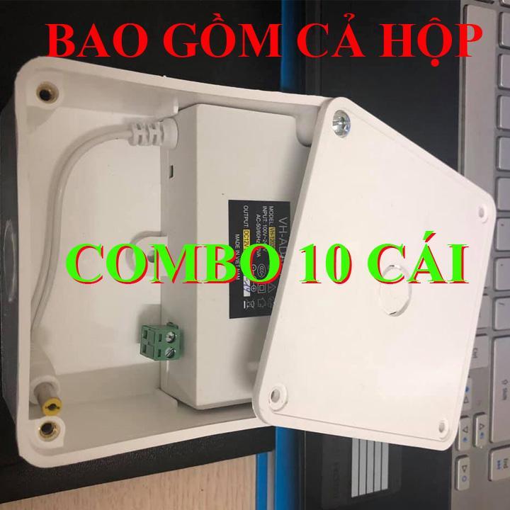 Bộ 10 COMBO adapter 12v-2a và hộp nối, nguồn 12v2a , adapter 12v2a , adapter 12v 2a hàng mới - nguồn hộp nối