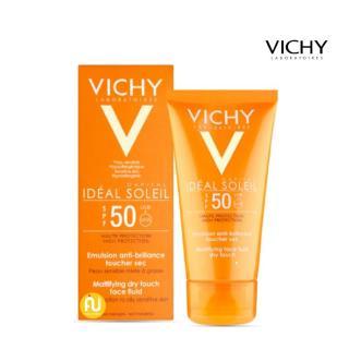 Kem Chống Nắng Vichy Ideal Soleil SPF50 Không Gây Nhờn Rít, Giảm Thâm Nám Da Hiệu Quả (50ml) thumbnail