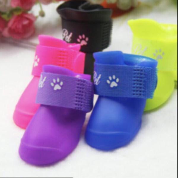 Giày nhựa đi mưa chống nước cho cún miu, sản phẩm tốt, chất lượng cao, cam kết như hình, độ bền vượt trội