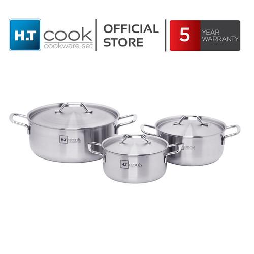 Bộ 3 Nồi INOX HT Cook