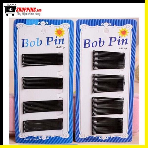 Set 36 Kẹp Tóc Kẹp Tăm Kẹp Xỉa Màu Đen Thời Trang Dễ Thương HOME24H19042 (Kèm Ảnh Thật) nhập khẩu