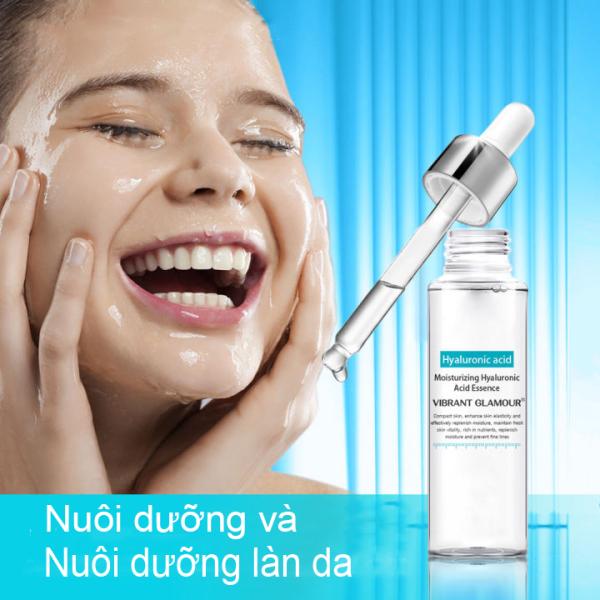 VIBRANT GLAMOR Serum Hyaluronic Acid 15ml cấp nước giữ ẩm cho da, cân bằng lượng dầu trên da