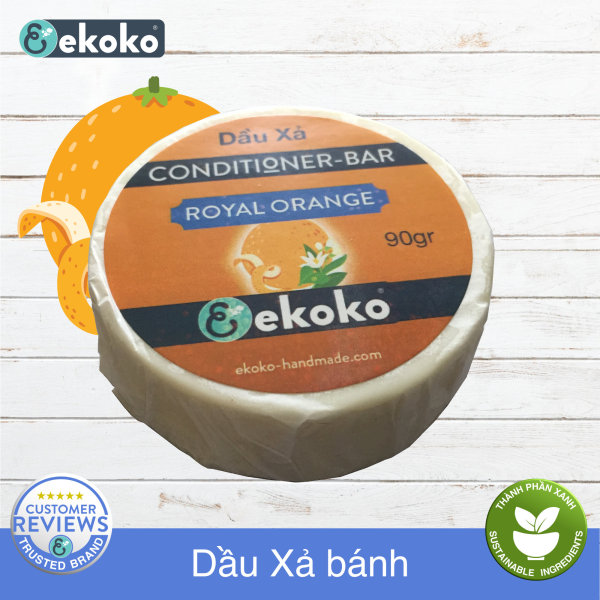 Dầu Xả bánh Hair conditioner bar Royal Orange 90g