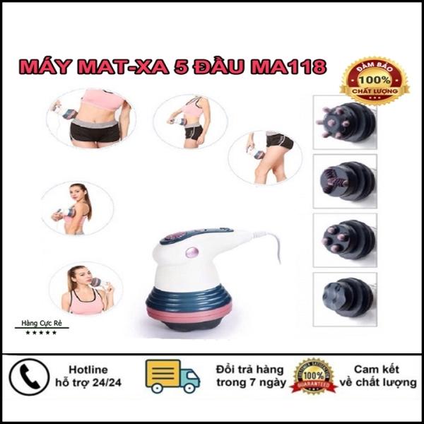 Máy massage toàn thân 5 in 1 cầm tay HCR118