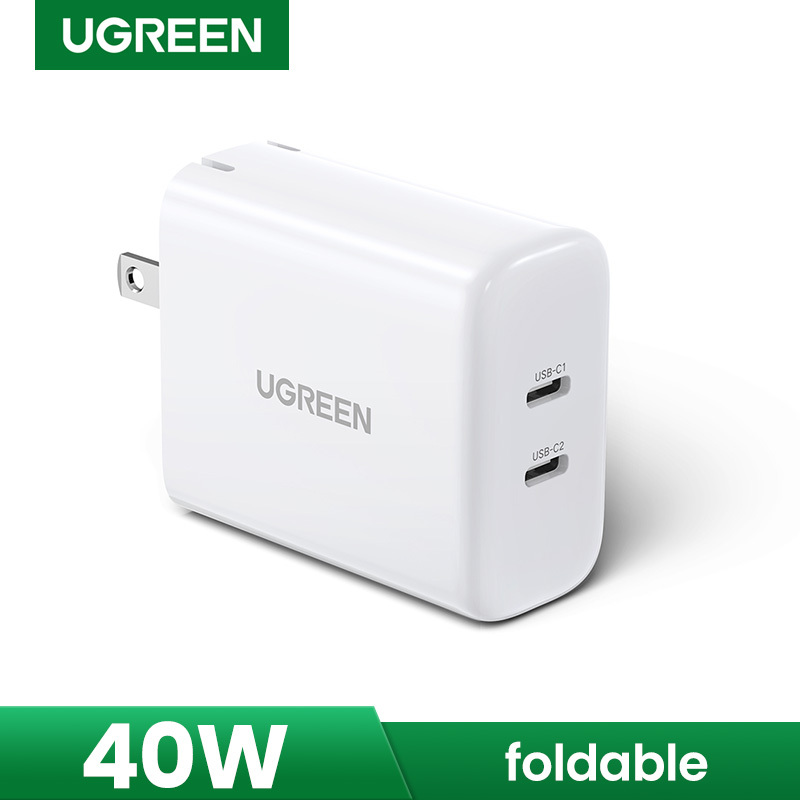 UGREEN 40W Fast Charger USB C Type C Charger Power Delivery Charger for iPhone Huawei Xiaomi Sansumg