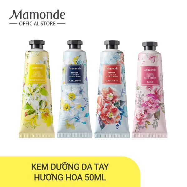 Kem dưỡng da tay hương hoa Mamonde Flower Scented Hand Cream 50ml (nhiều loại) giá rẻ