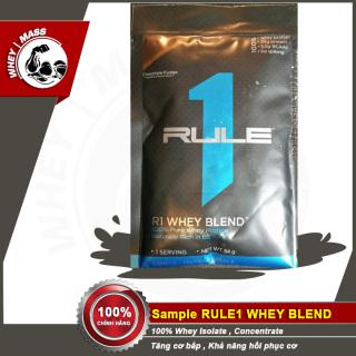 Gói Dùng Thử Sữa Tăng Cơ Siêu Khủng Rule 1 whey Blend - 1 lần dùng - Authentic 100% - Từ Mỹ thumbnail