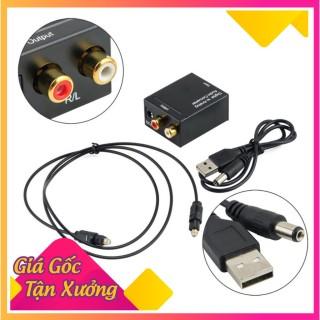 Bộ chuyển âm thanh TV 4K quang optical sang audio AV ra amply + Cáp optical 1.5m thumbnail