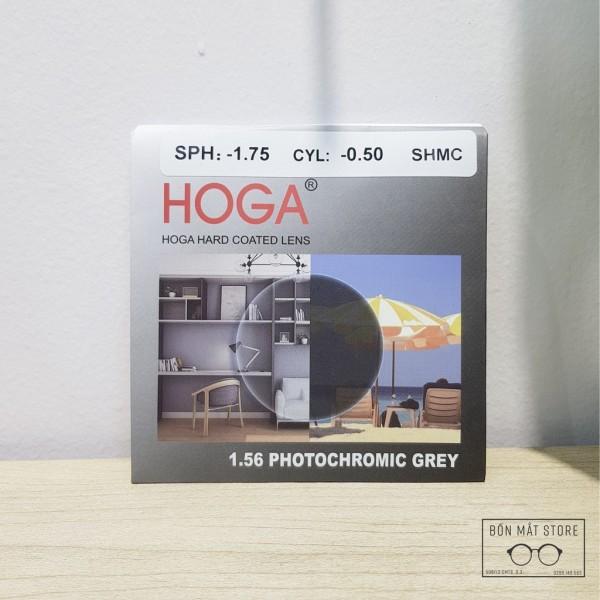 Giá bán Tròng Kính Cận Đổi Màu Phủ Váng HMC Hàn Quốc 1.56 AS